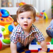 A young boy in an In-Home Daycare.