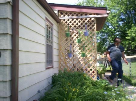 Decorating a Porch