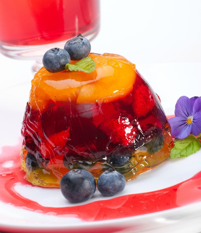 Желе из фруктового пюре рецепт с фото