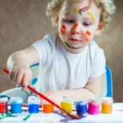 Child's Art Table