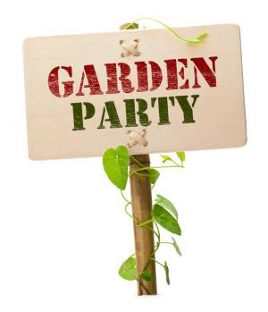 Garden Party Sign