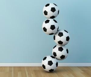 soccer ball sculpture