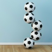 soccer ball sculpture