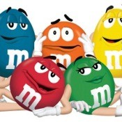 Cartoon M&Ms