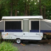 Popup camper.
