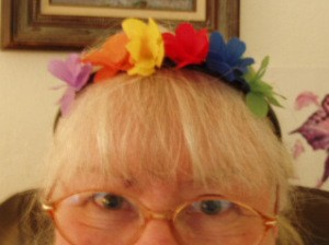 Finished headband.