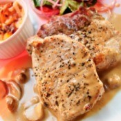 Pork Chops with Gravy