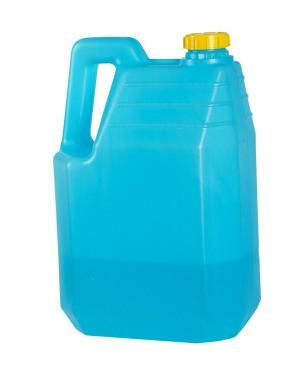 Blue Kerosene Bottle