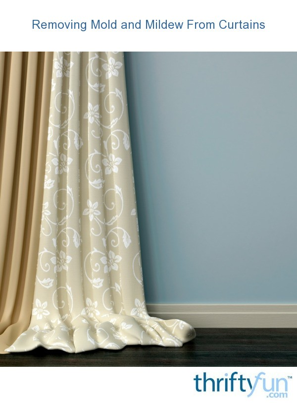 Removing Mold And Mildew From Curtains