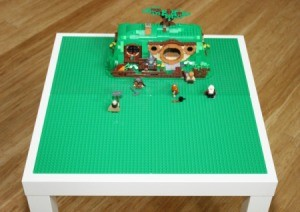 Legos on table