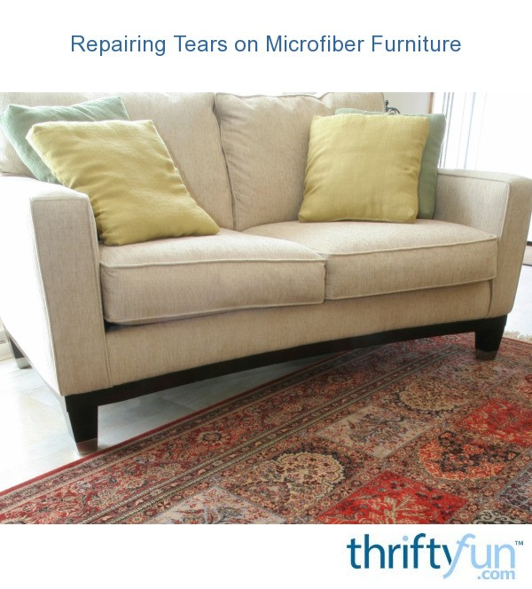 Pleasant Repairing Tears On Microfiber Furniture Thriftyfun Short Links Chair Design For Home Short Linksinfo