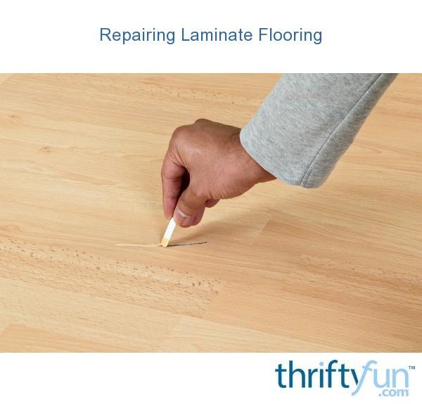 Repairing Laminate Flooring Thriftyfun