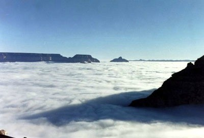 Cloud Filled Grand Canyon