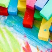 chalk pastels