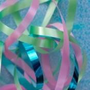 Colorful ribbon.
