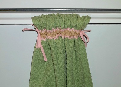 Captivating Finished Towel Hanging.
