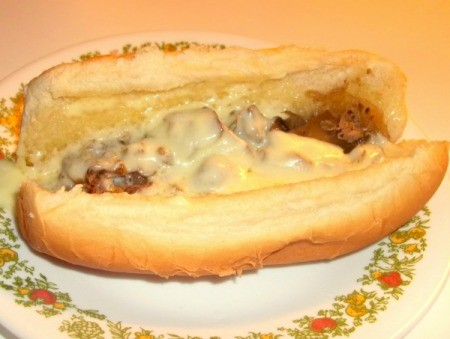Slow Cooker Philly Cheese Steak