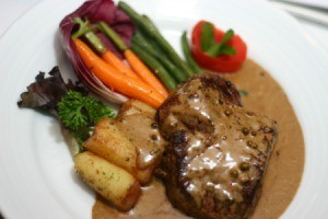 Steak With Gravy