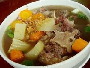 Bowl of soup.