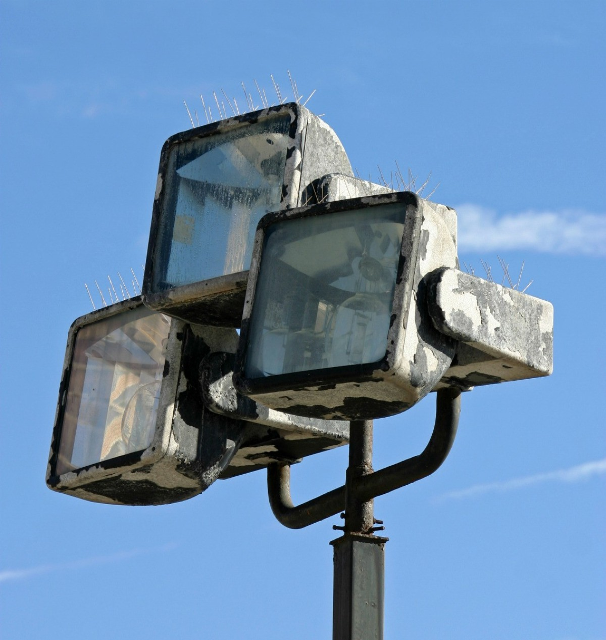 Preventing Ice Buildup On Outdoor Flood Lights