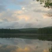 Photo across the lake.