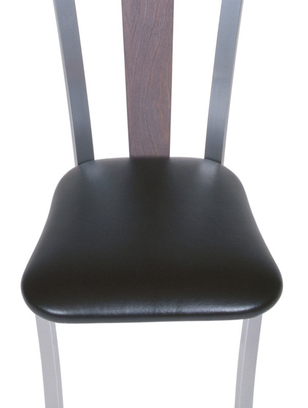 Dining Room Chair With A Vinyl Seat. Vinyl Is A Durable Upholstery ...