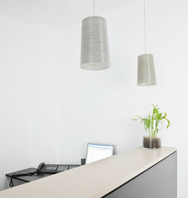 An Office With Modern Interior Design