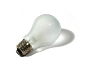 Burnt Incandescent Bulb