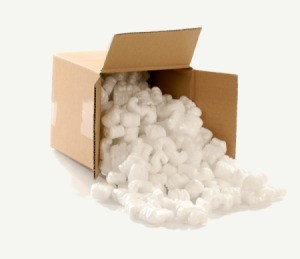 Styrofoam Packing Peanuts