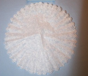 Coffee Filter Doily