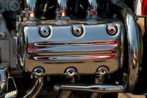 Closeup of Chrome