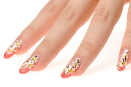 Beautifully painted nails.