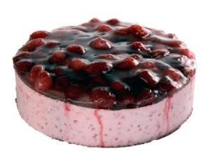 Raspberry Patch Cream Pie
