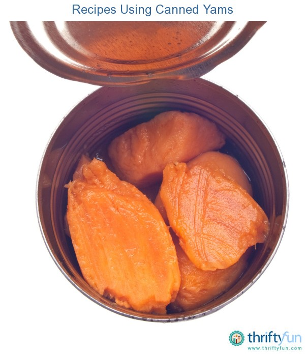 Recipes Using Canned Yams