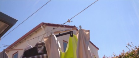 Using Hangers in Windy Weather