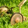 Old Reel Mower