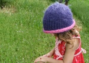 Crocheted Toddler Girl's Hat