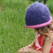 Crocheted Toddler Girl's Hat