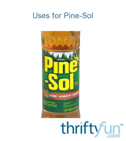 Uses for Pine-Sol | ThriftyFun