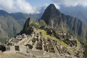 Photo of Machu Picchu.
