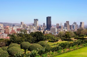 Pretoria, South Africa skyline.