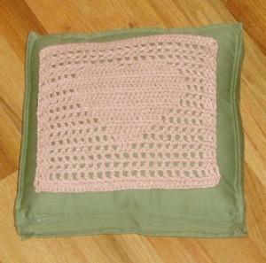 Filet Crochet Heart