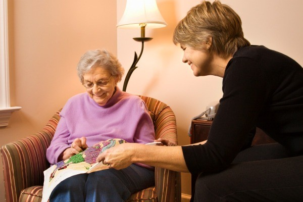 Craft ideas for nursing home patients thriftyfun elderly woman doing needle work finding crafts that nursing home patients negle Image collections