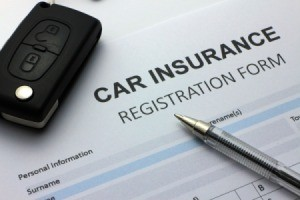 Auto Insurance Form.