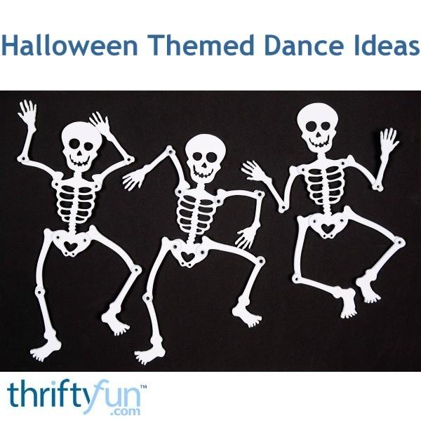 Halloween themed dance ideas thriftyfun for Halloween dance floor ideas