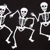 Dancing Skeleton, Halloween decorations.