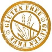 Gluten free badge.