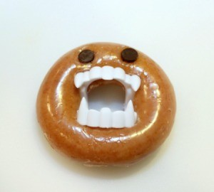 single monster doughnut