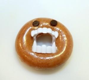 single monster doughnut