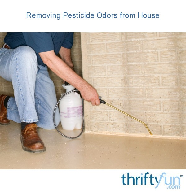 Removing Pesticide Odors From House Thriftyfun